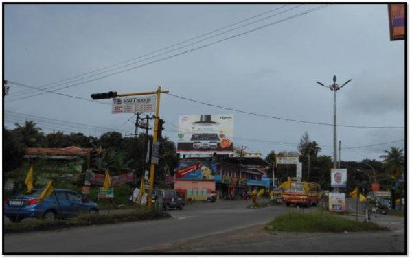 Adinn-outdoor-billboard-Adoor Town byepass signal, Pathanamthitta